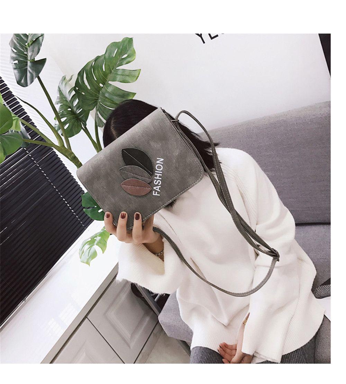 New Leaves Fashion Shoulder Messenger Bag