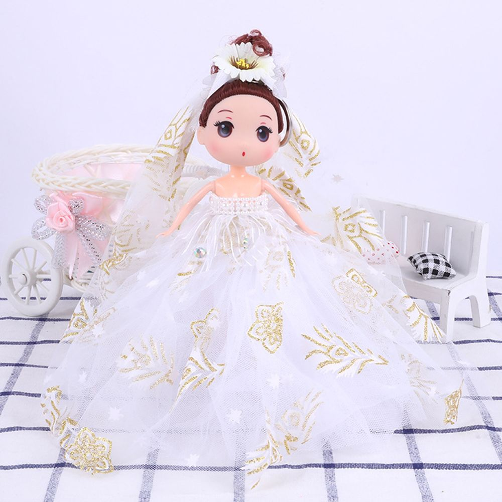 18CM High-quality Vinyl Doll