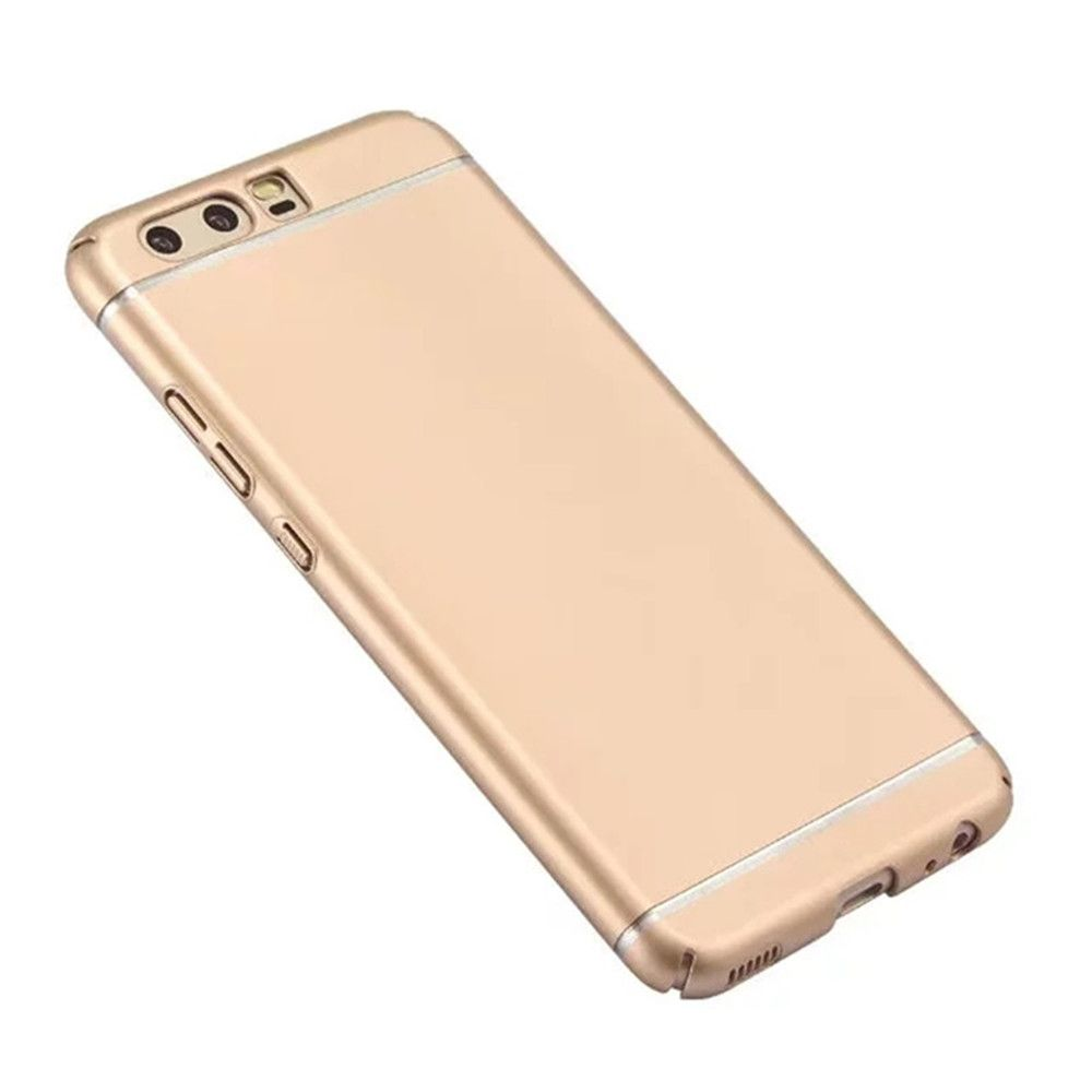 Embossed Back Cover Solid Color Hard PC for Huawei P10 Case