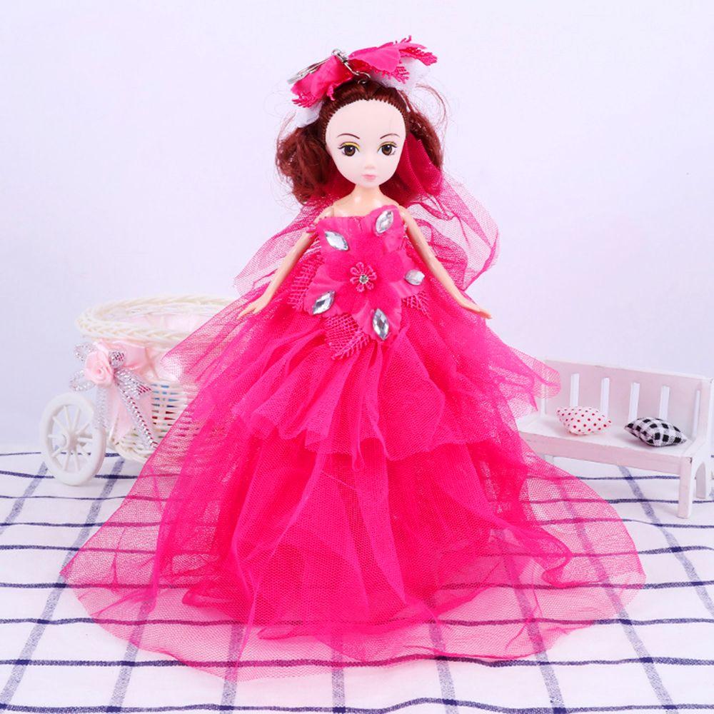 26CM Wedding Doll Princess Keychain Hanging Toy