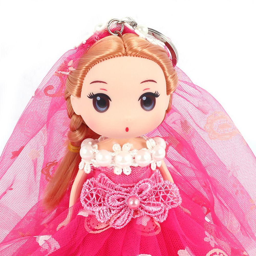 18CM Wedding Dress Creative Cartoon toy Doll pendant