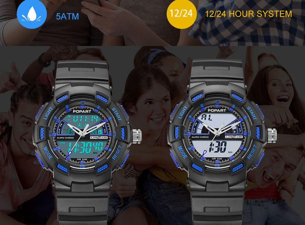 POPART POP792AD Casual Multifunctional Unisex Children Sports Watch