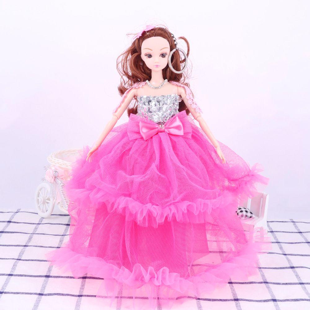 30CM Large Wedding Dress Doll Toy Pendant