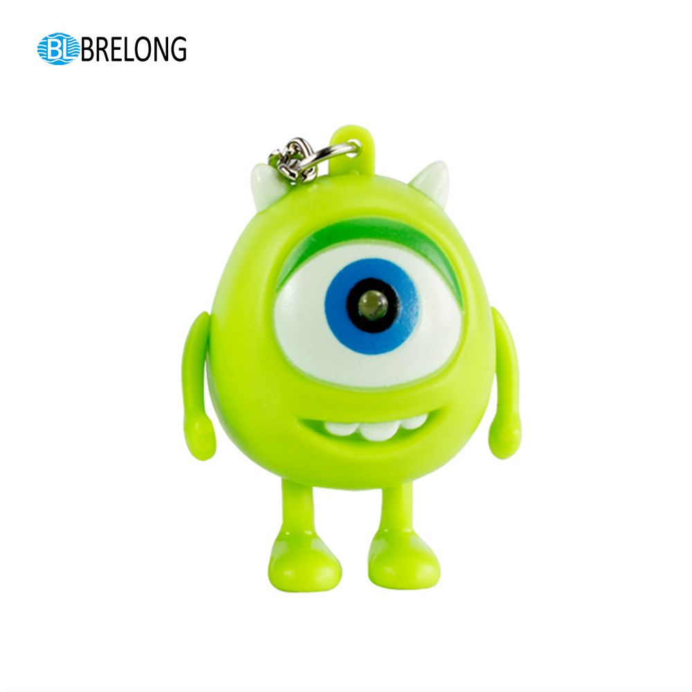 Brelong Noise-making Cartoon Keychain with LED Light