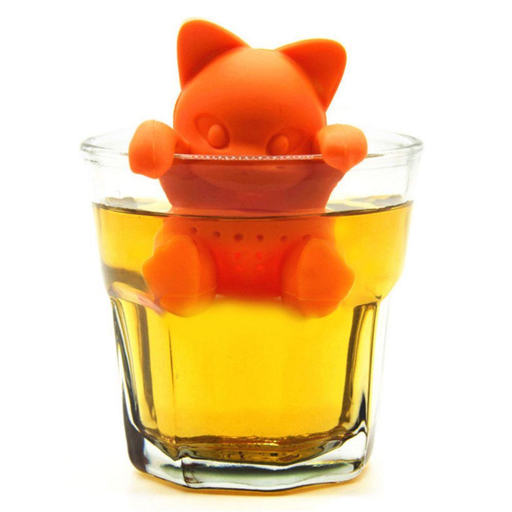 Atongm Cute Cartoon Creative Silica Gel Tea Brewing Device
