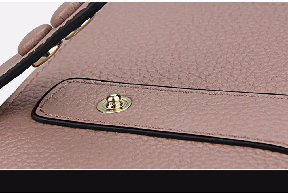 Women Wallets Genuine Leather Clutch Cowhide Fashion Female Purse