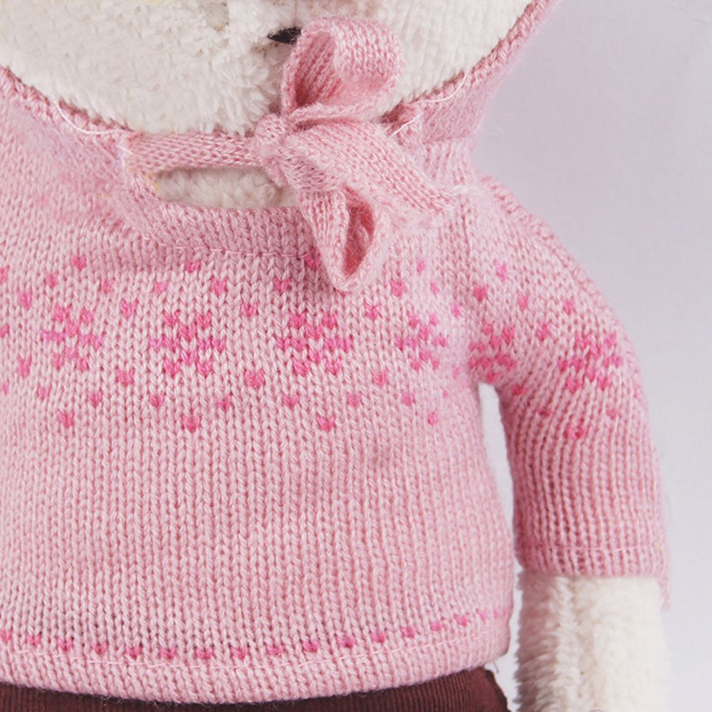 30CM Long Sleeve Sweater Plush Rabbits Doll