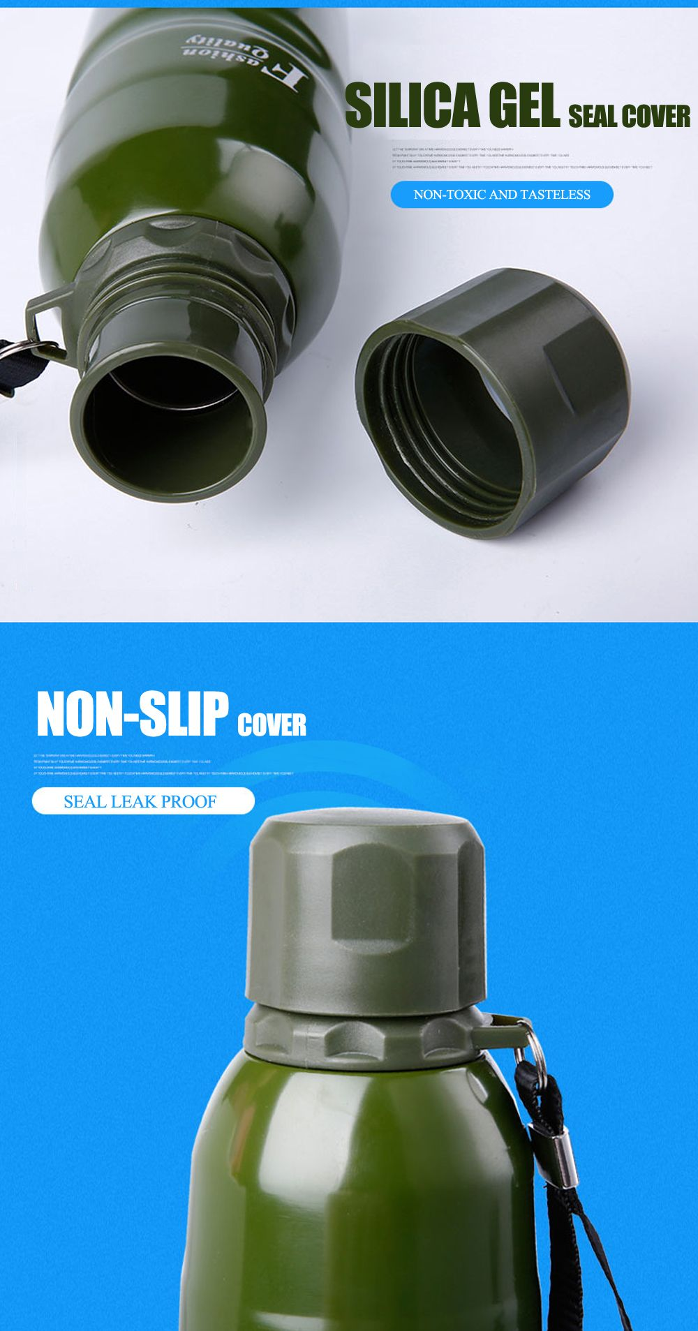 Stainless Steel Outdoor Water Cup Large Thermos