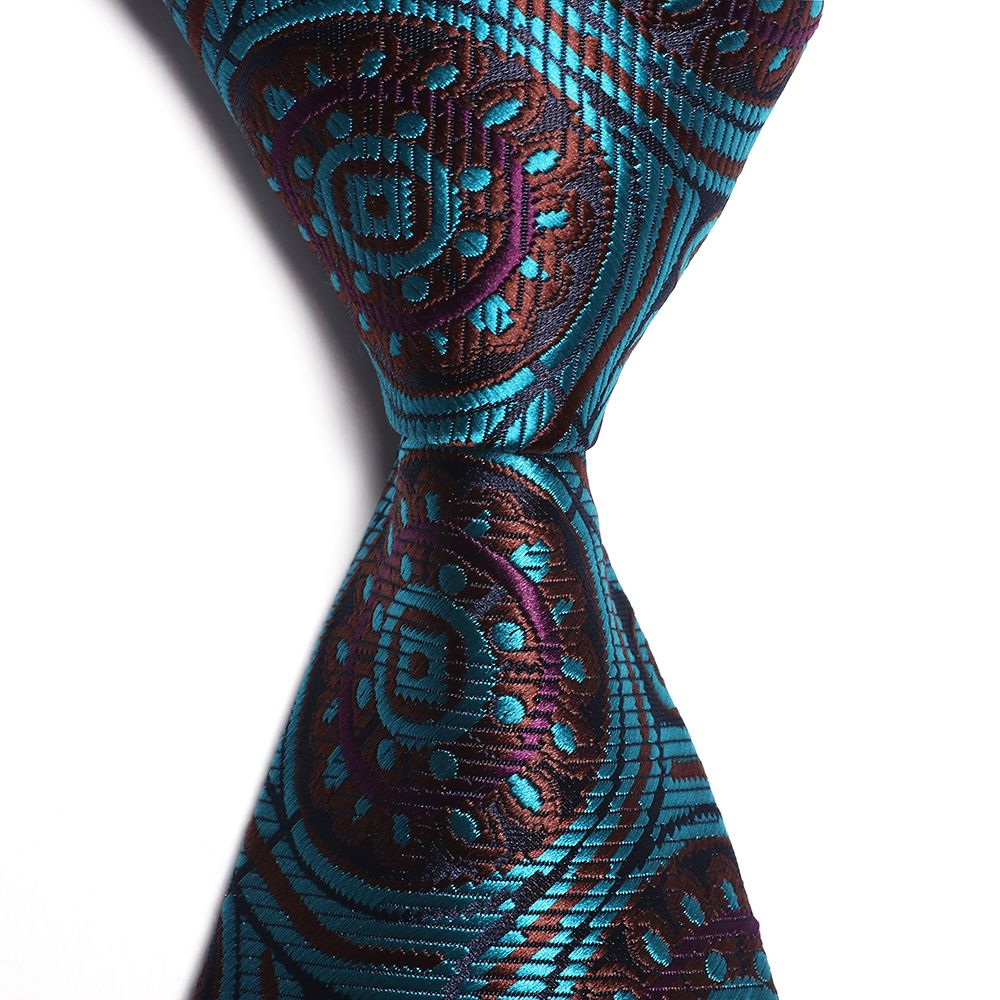 Fashion Accessory Men's Business Necktie Circle Pattern All Match Stylish Brief Chic Design Comfy Tie