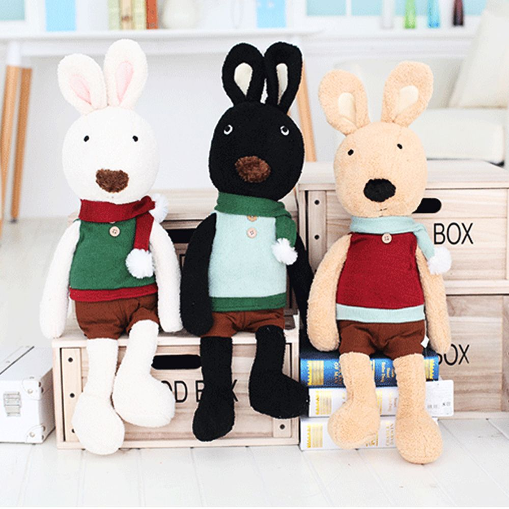 30CM Scarf Vest Baby Rabbit Plush Toy Doll