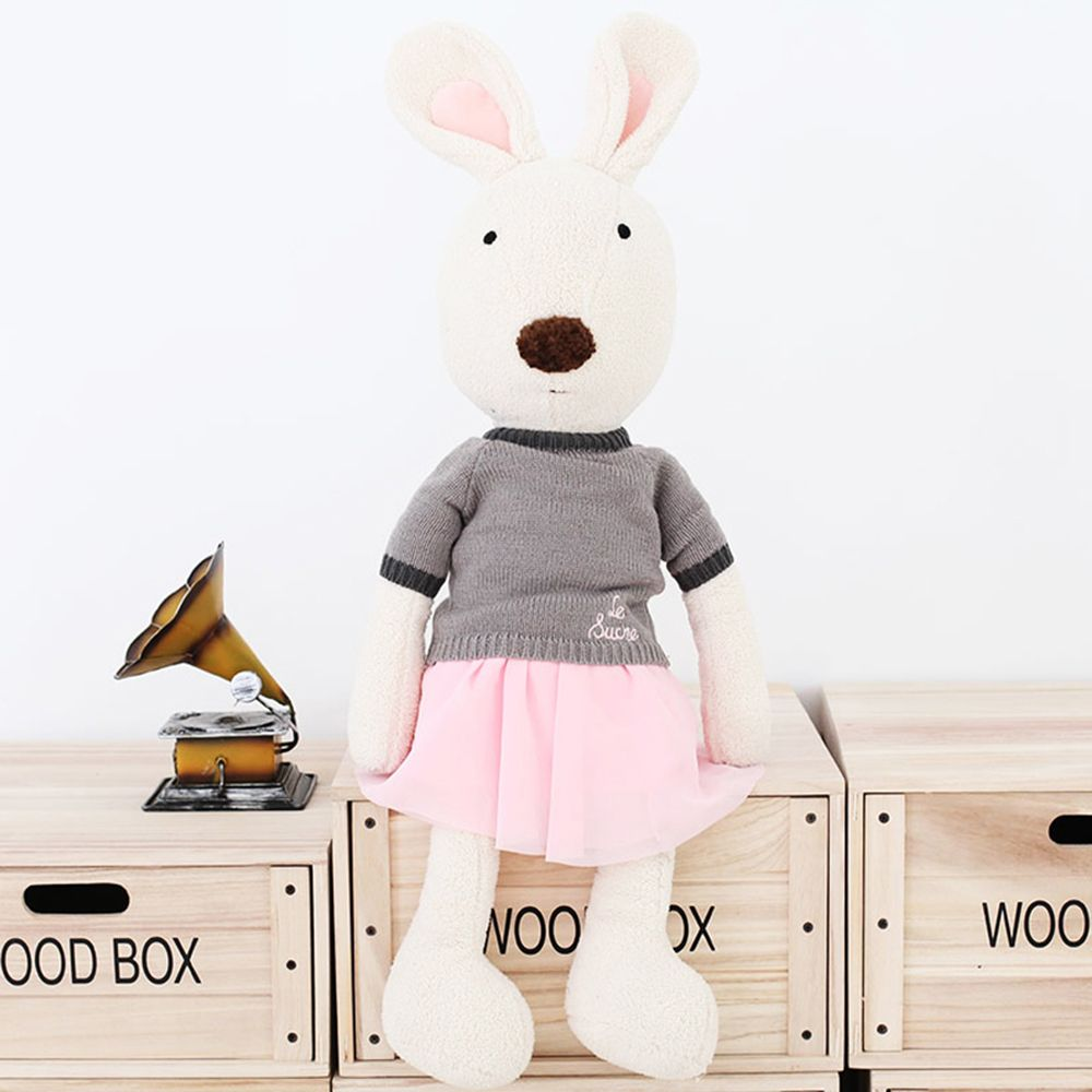 30CM Sweater Short Skirt Rabbit Plush Toy Doll