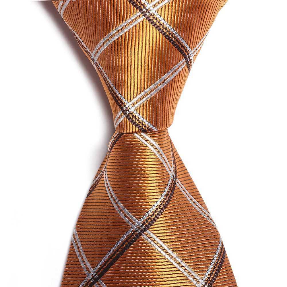 Fashion Men's Accessories All Match Business Necktie Lattice Pattern Striped Casual Plaid Simple Fine Tie
