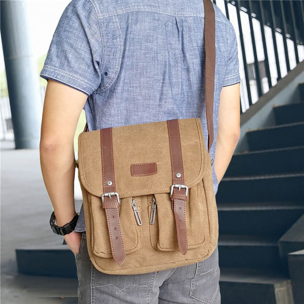 Young Fashion Canvas Single Shoulder Bag
