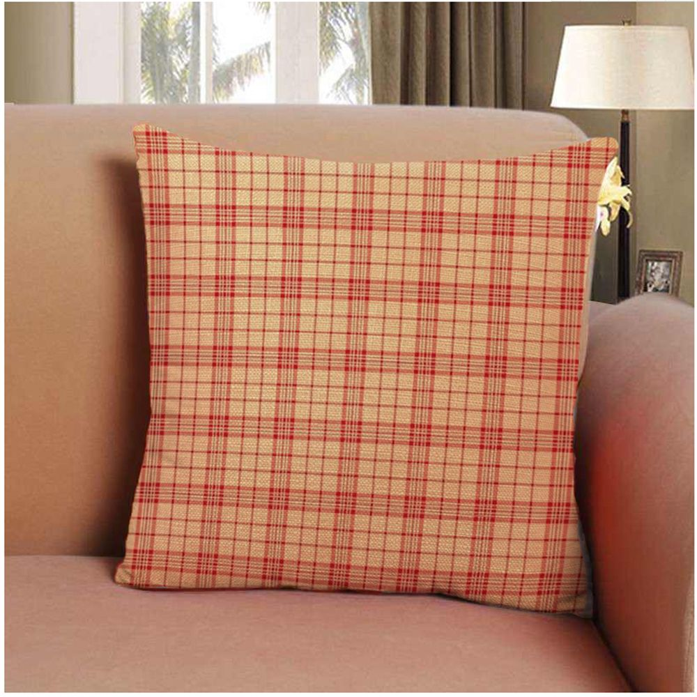 Soft Striped Lattice Home Decor Pillow Cases 16inch x 16inch