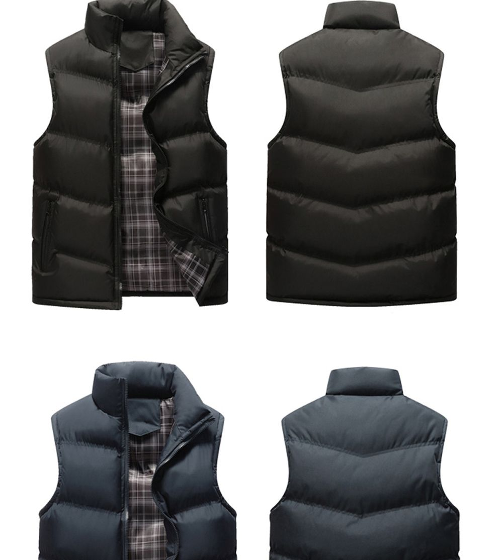 The Men's Trend Plus The Thick Cotton Waistcoat