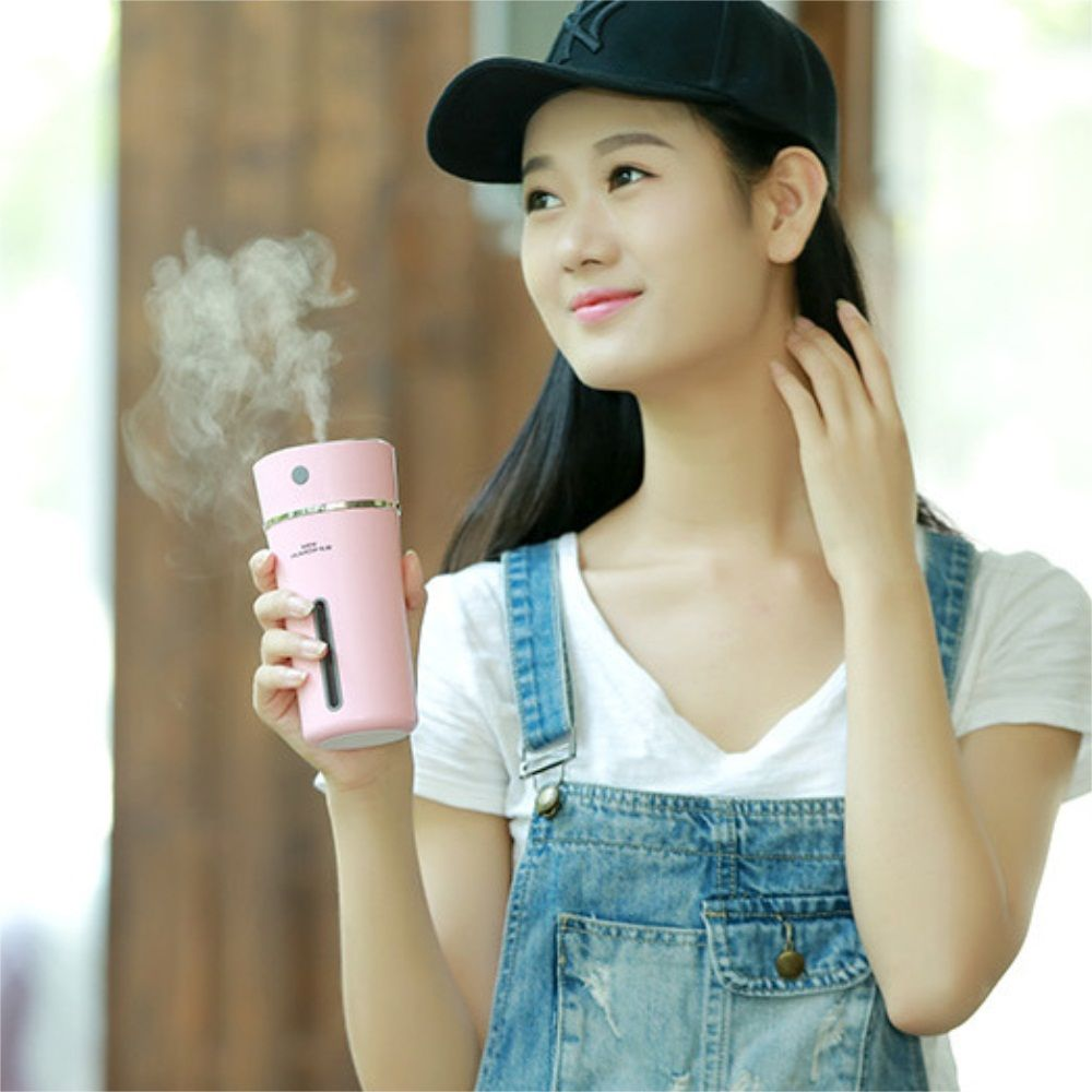 Mini USB Free Cup Humidifier Portable Storage Battery