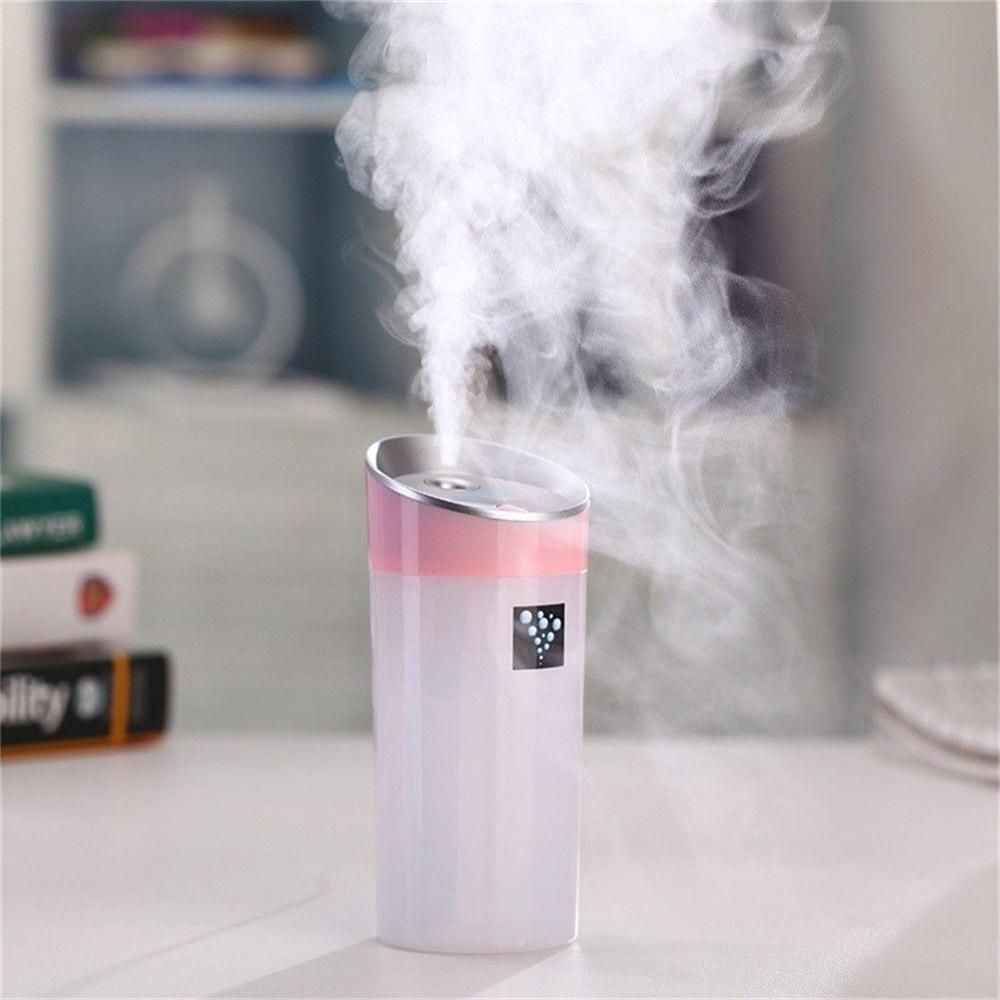Small O Mini USB Car Humidifier Aromatherapy Negative Ion Air Purifying Mute