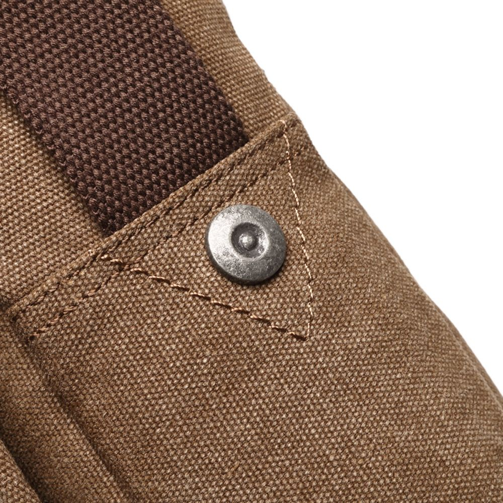 Men's  Canvas Slant Cross Bag