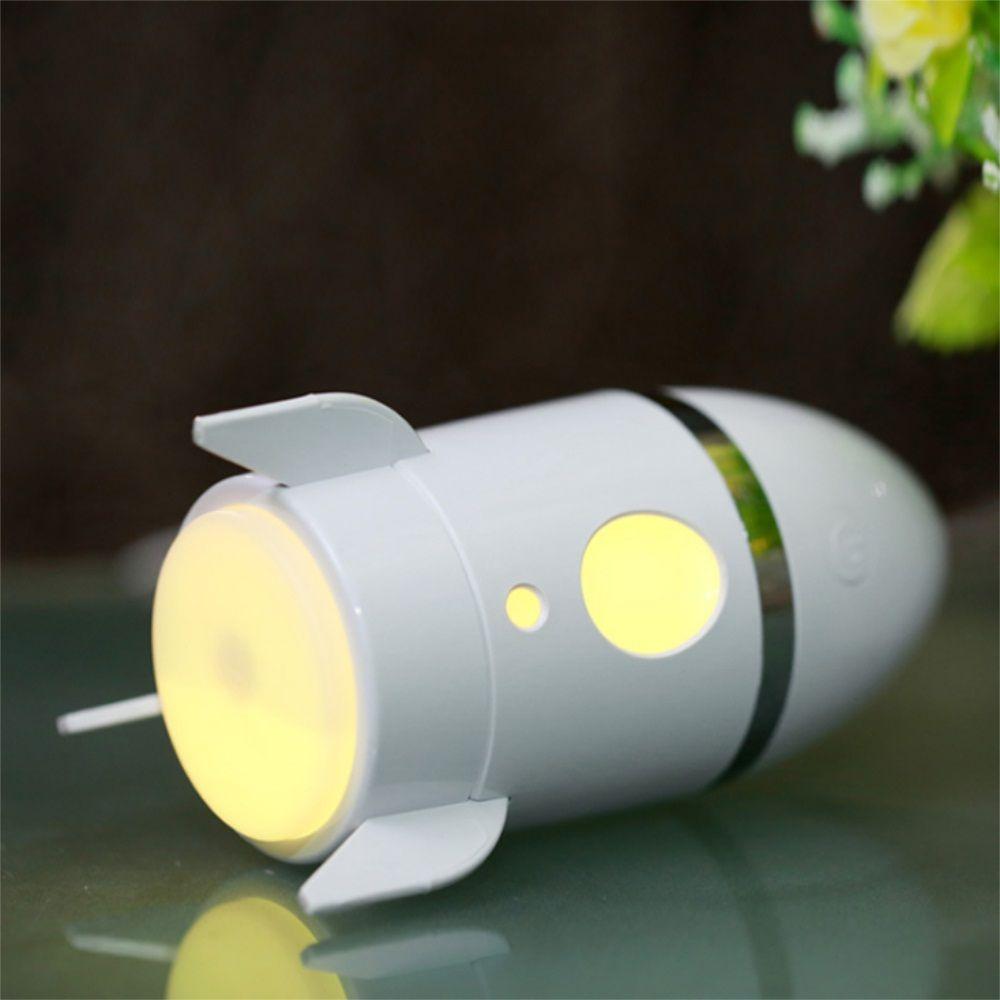 Mini USB Rocket Humidifier Office Car Bedroom Seven Colour Change Mute