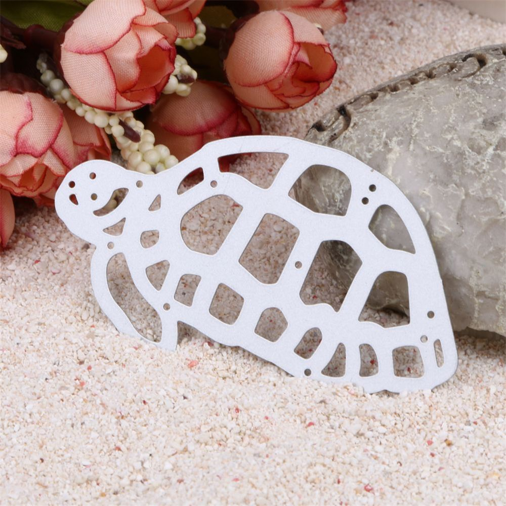 Tortoise Metal Cutting Dies Template Embossing Folder Stencil DIY Scrapbook