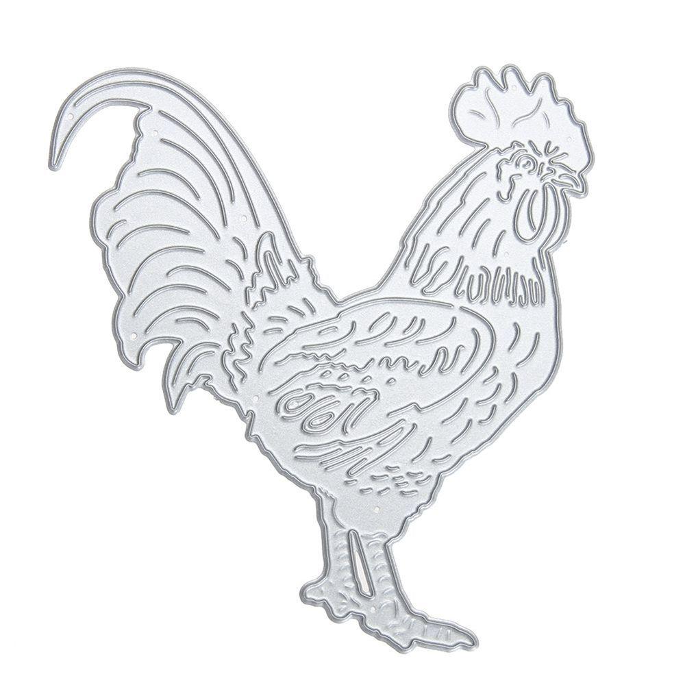 Metal DIY Cutting Dies Love Cartoon Chicken Scrapbook Album Decoration Crafts