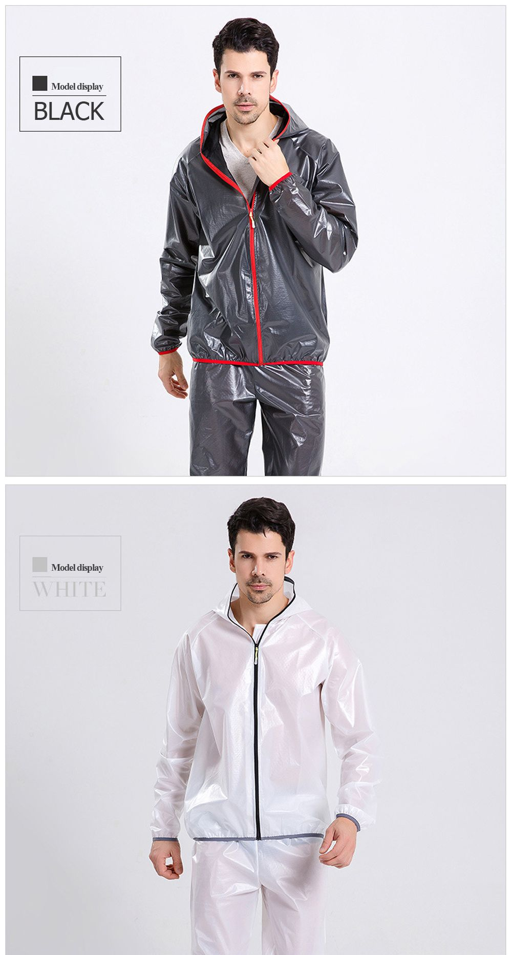 Split Raincoat Ultra-Thin Skin Clothing