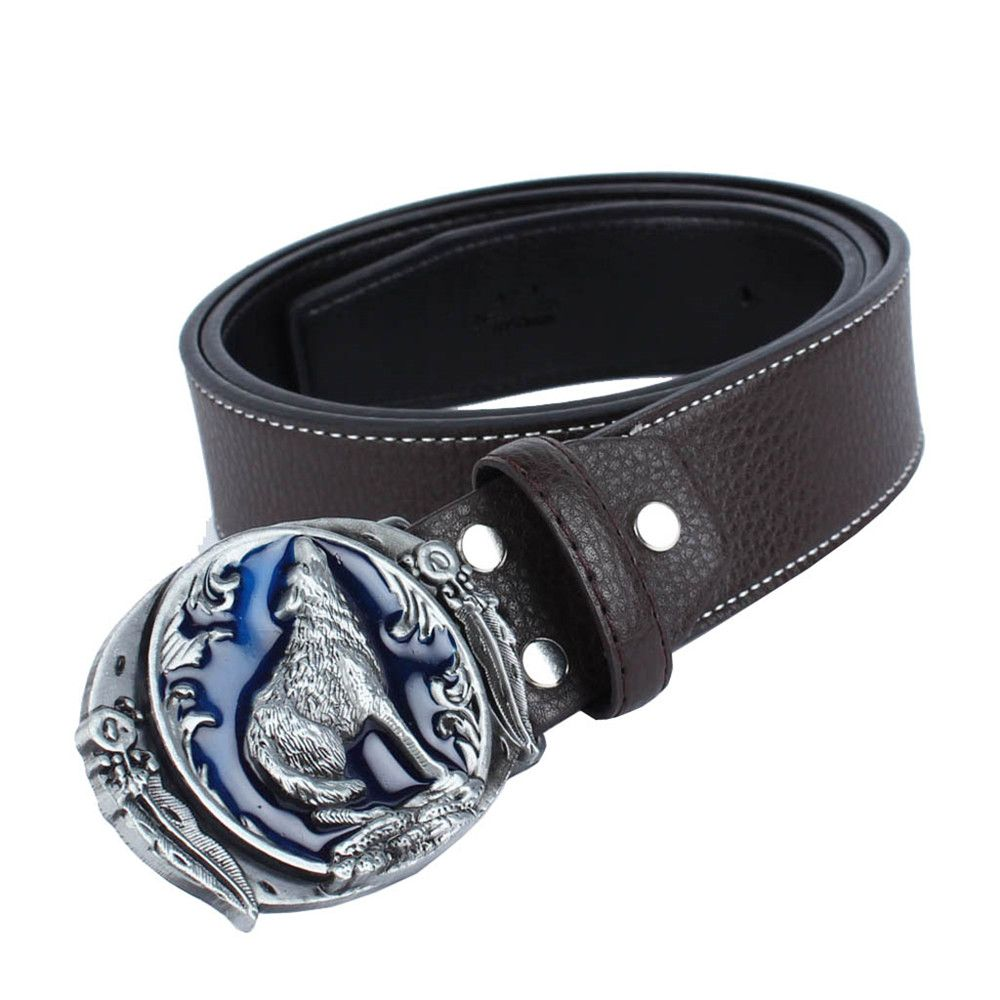 Wolf Belt Leather