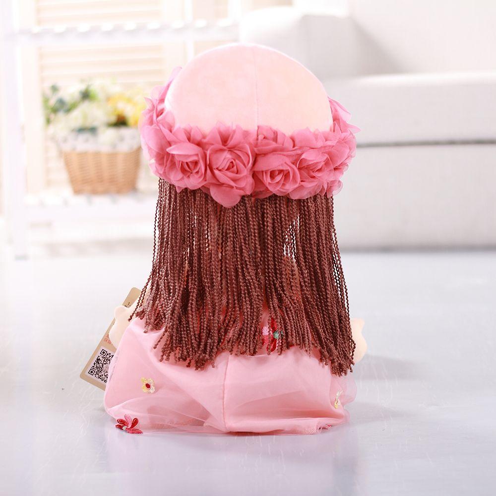 35CM Cute Braid Fairy Toy Doll