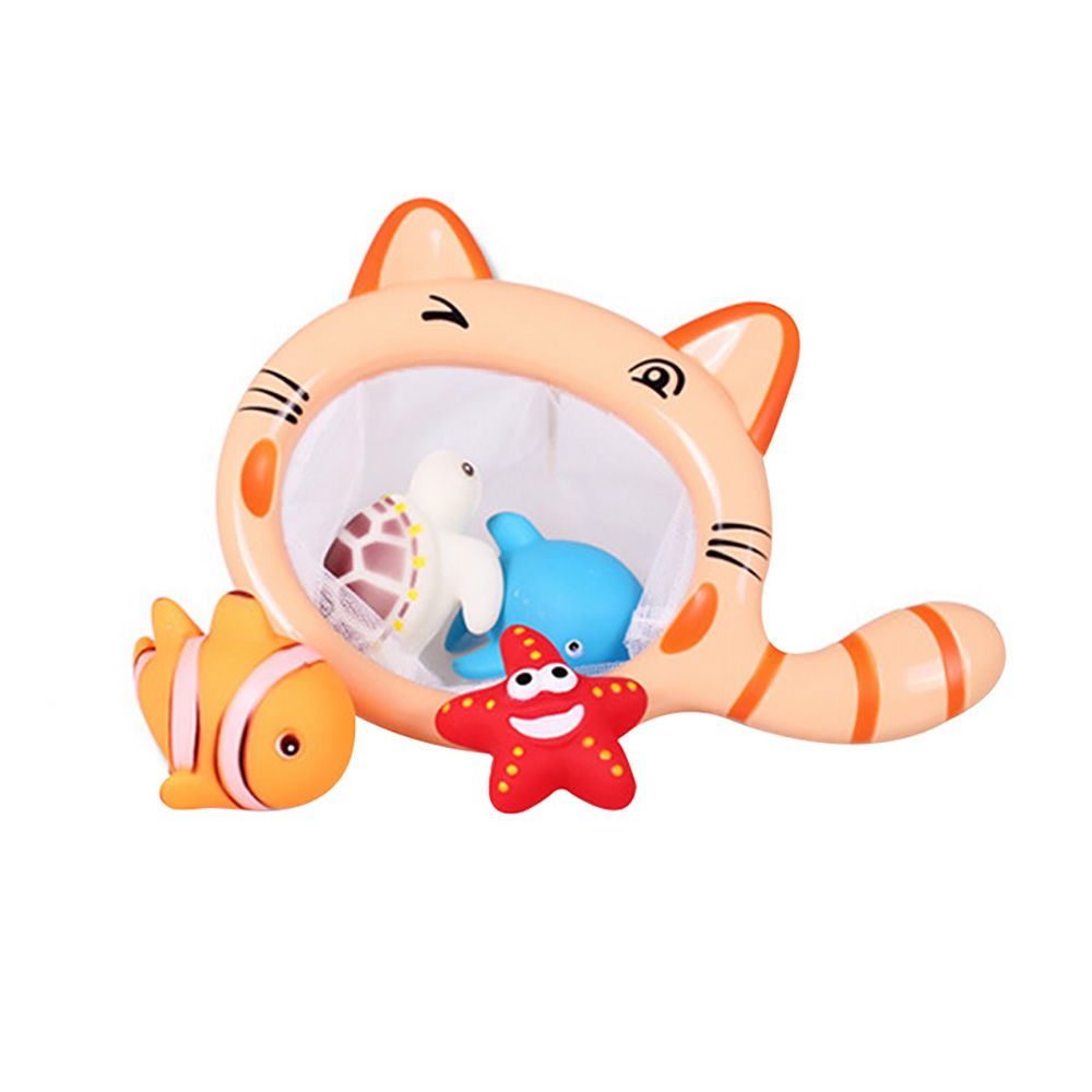Fish Bath Small Animal Squeezed Water Toys