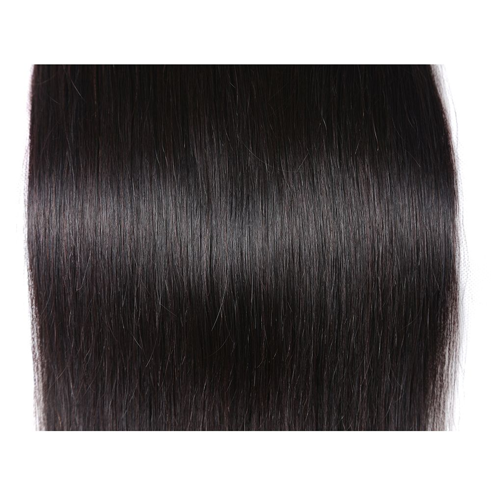 Brazilian Silky Straight Virgin Human Hair Weave Exention 3 Pieces 8 inch - 28 inch