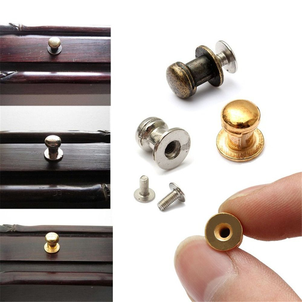 15PCS Mini Jewelry Box Chest Case Drawer Cabinet Door Pull Metal Knob Handle