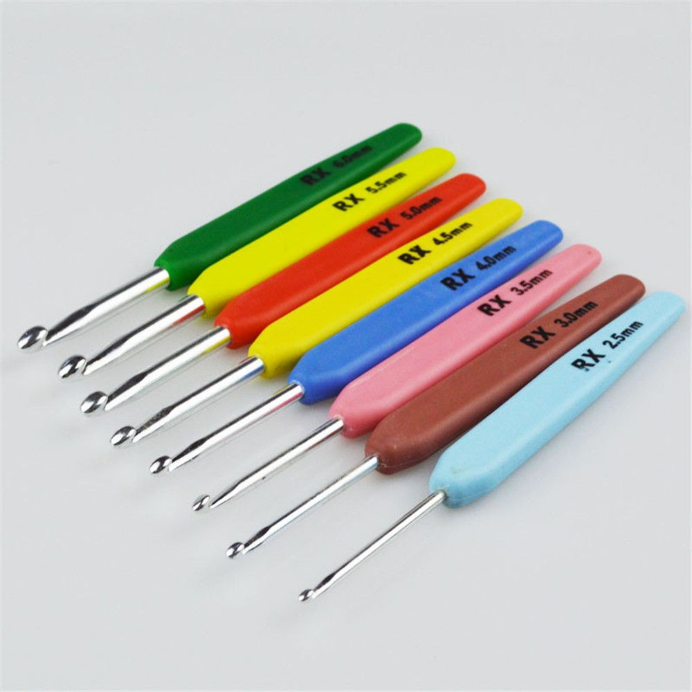 16 PCS Multicolor Crochet Home Textile Sewing Knitting Yarn Sewing Needle
