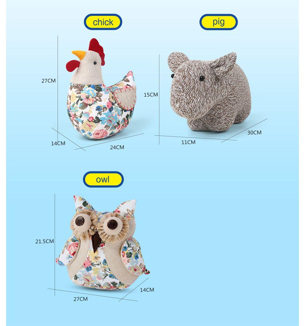 Bamboo-Carbon Adorable Q Adorable Owls Doll
