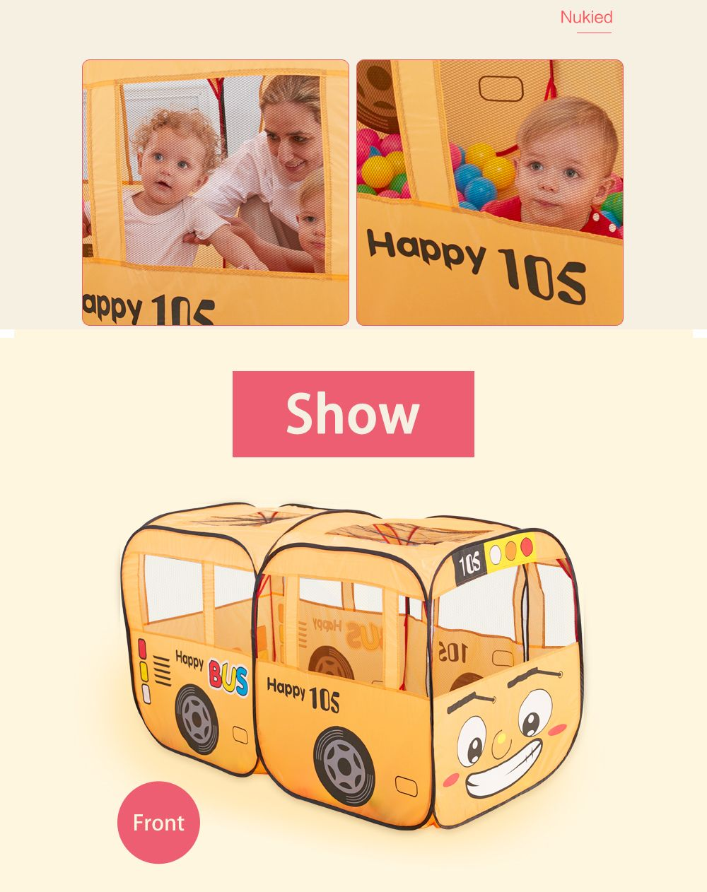 Early Childhood Education Car Tent Toy