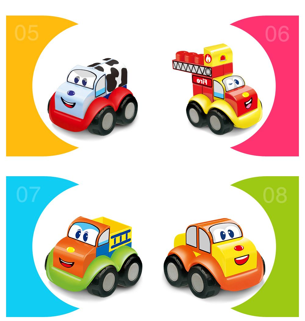 Early Childhood Education Gift Building Blocks Toy 5PCS
