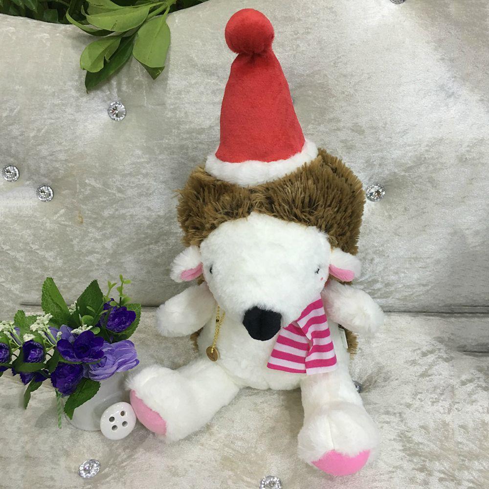 20CM Christmas Gift Hedgehog Doll Plush Toy