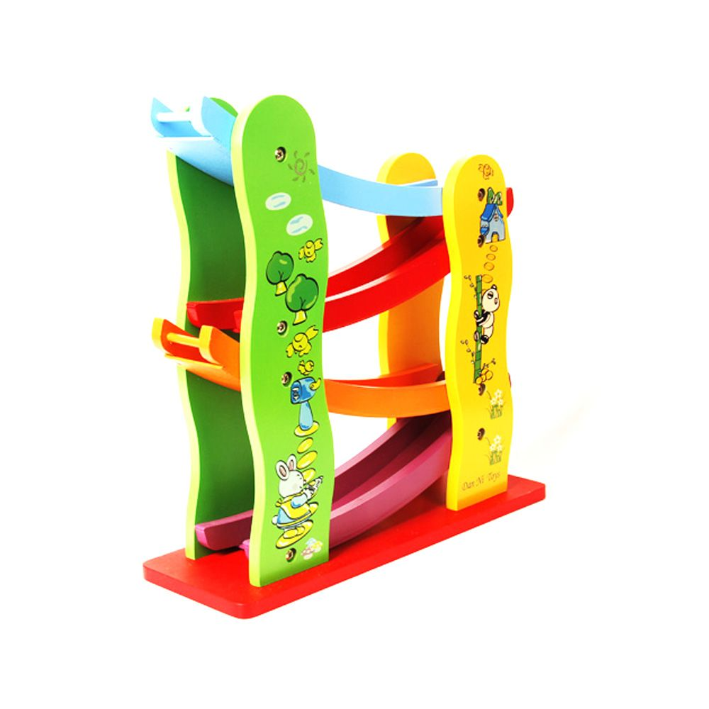 Speed Flying Car Early Education Puzzle Toy Brand Wood