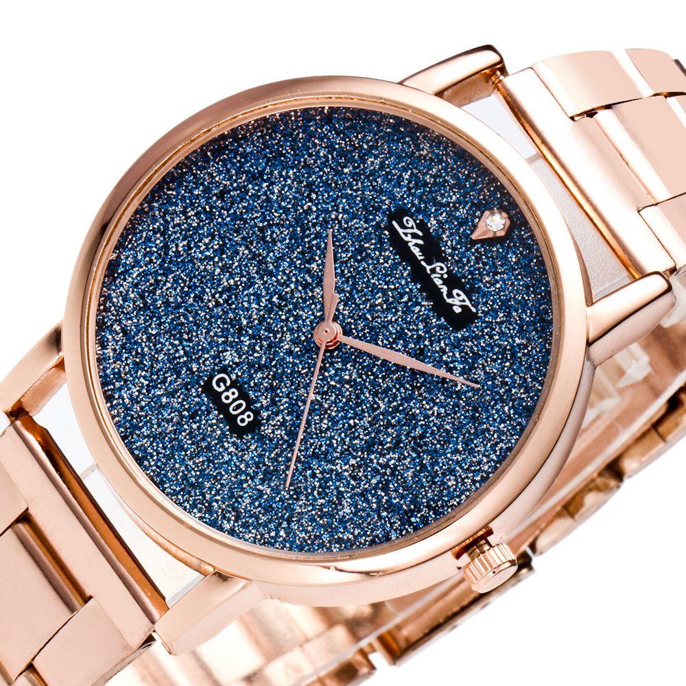 ZhouLianFa Business Top Brand Luxury Belt Diamond Fashion Quartz Watch
