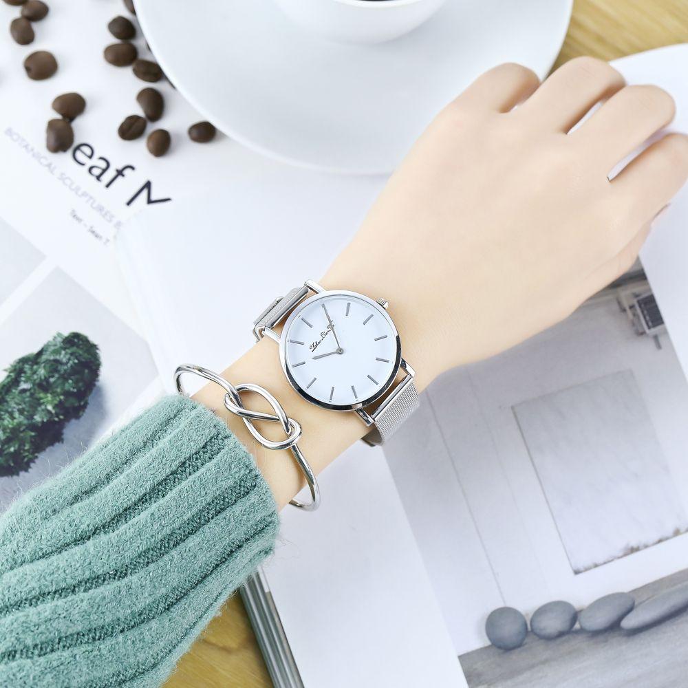 ZhouLianFa Simple Fashion Trends Watch Men Luxury Brand Quartz Watches Minimalist Style Fine Mesh Strap Wristwatch