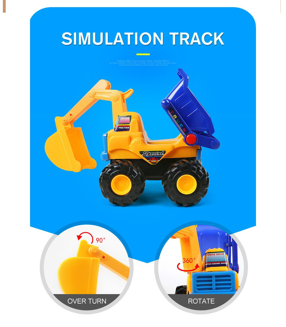 Early Childhood Education Inertia An Excavator Toy