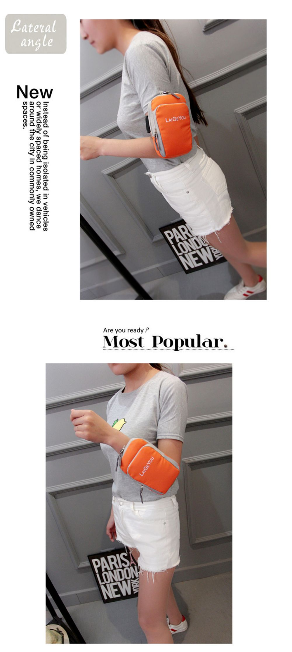 Five Colors Mobile Phone Bag The Wrist Bag