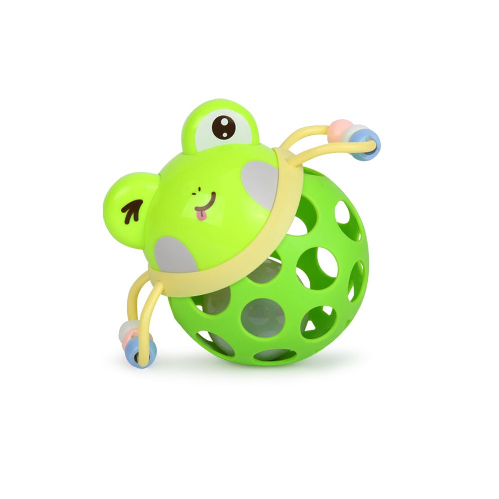 Baby Intelligence Soft Glue Ring Tooth Hand Grasp Ball