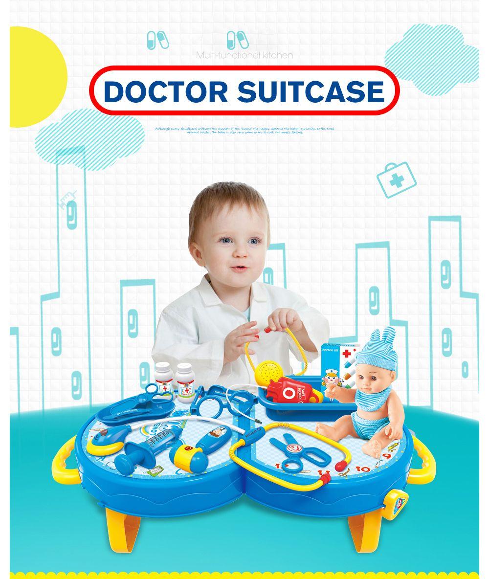 House Simulation Medicine Suitcase Toy