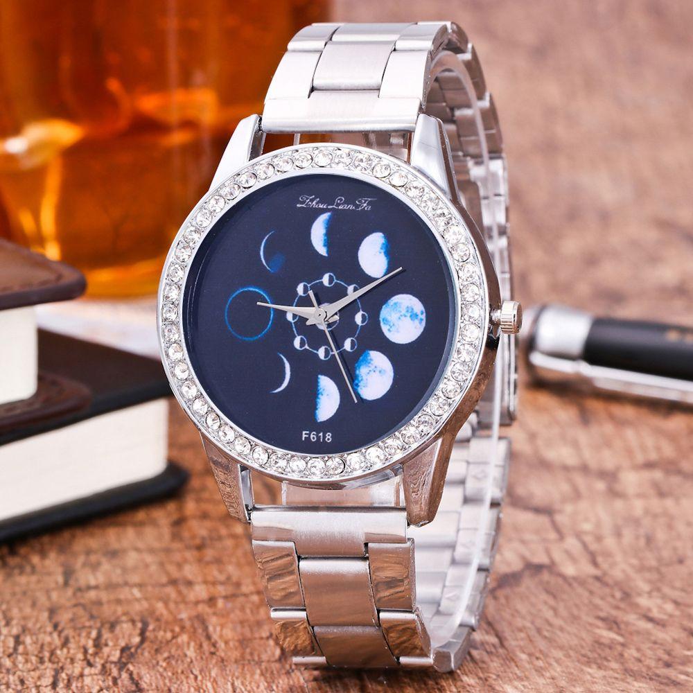 ZhouLianFa Top Brand Luxury Fashion Steel Band Strap Quartz Watch