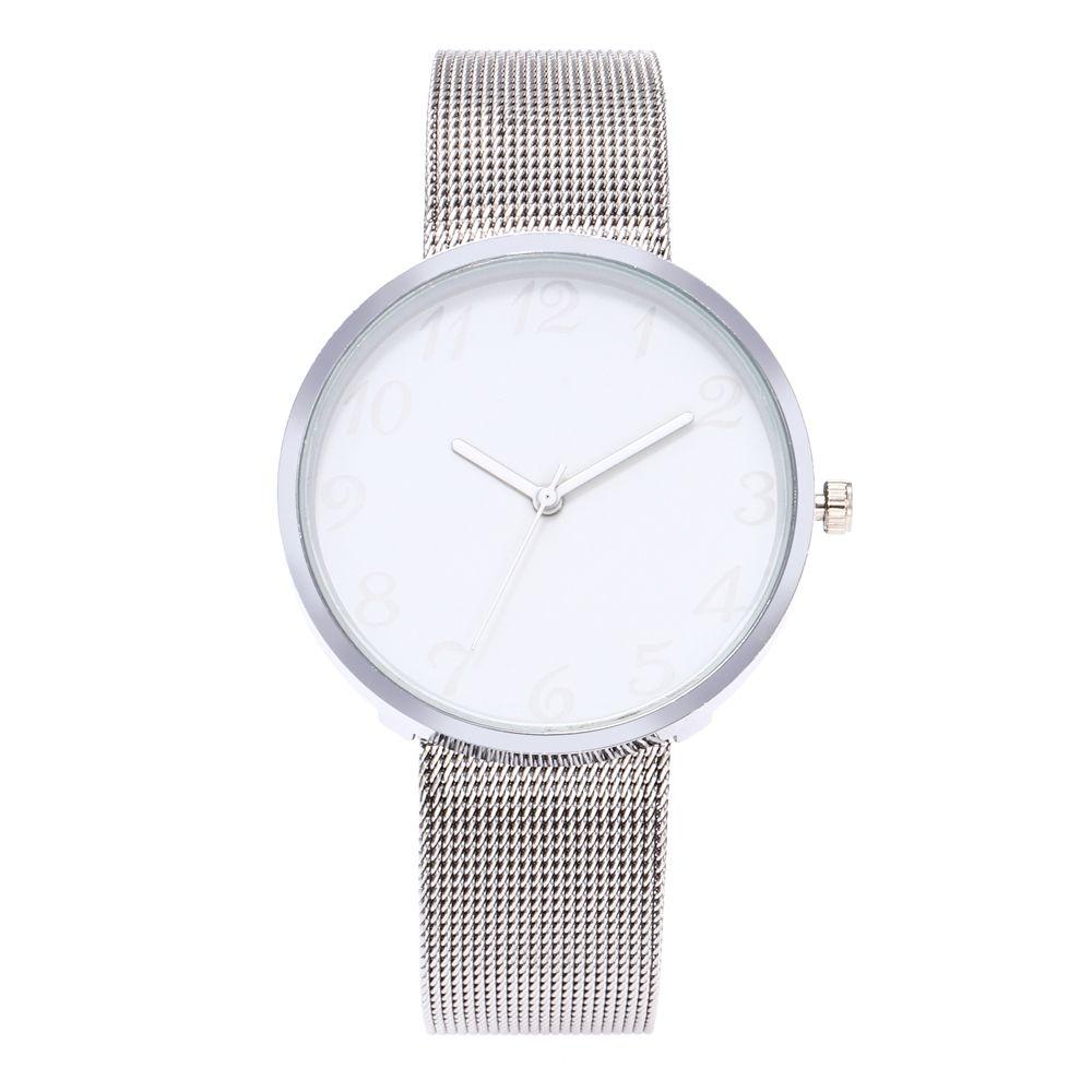 ZhouLianFa Luxury Famous Brand Classic Color A Pair Couple Watch Women Men Fashion Stainless Strap Clock