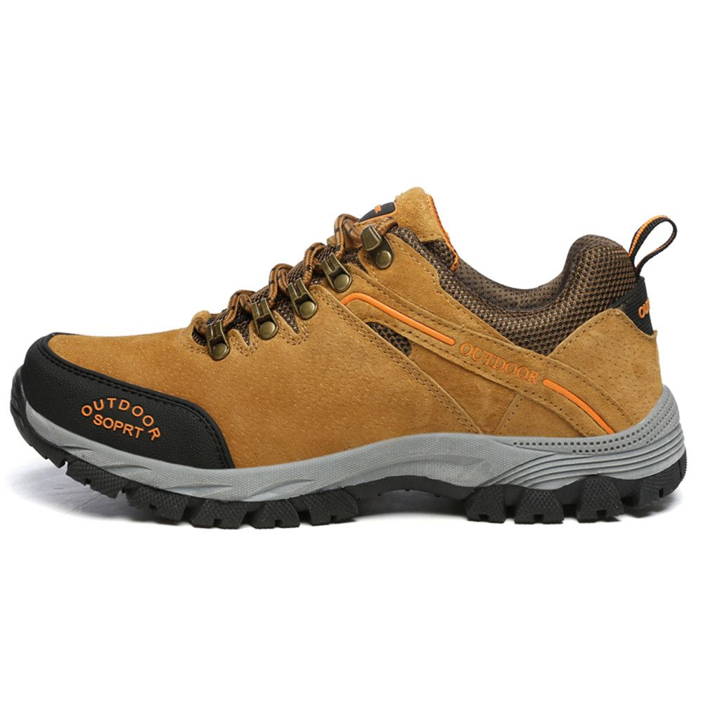 Men'S Lace Hiking Outdoor Hiking Shoes