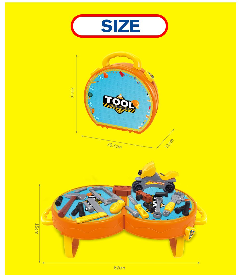 House Children Simulation Tool Suitcase Toy