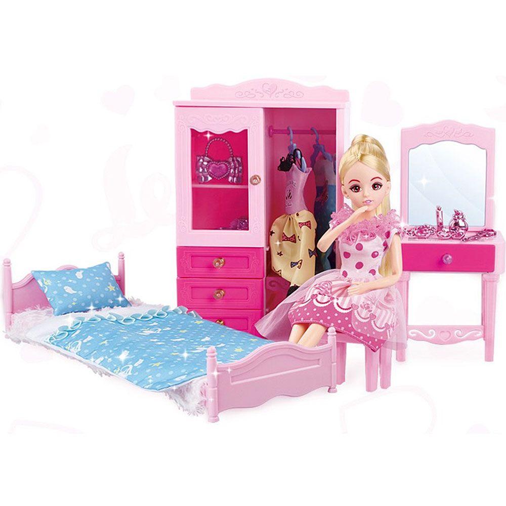 Children Exclusive Sweet Girl in Princess Room