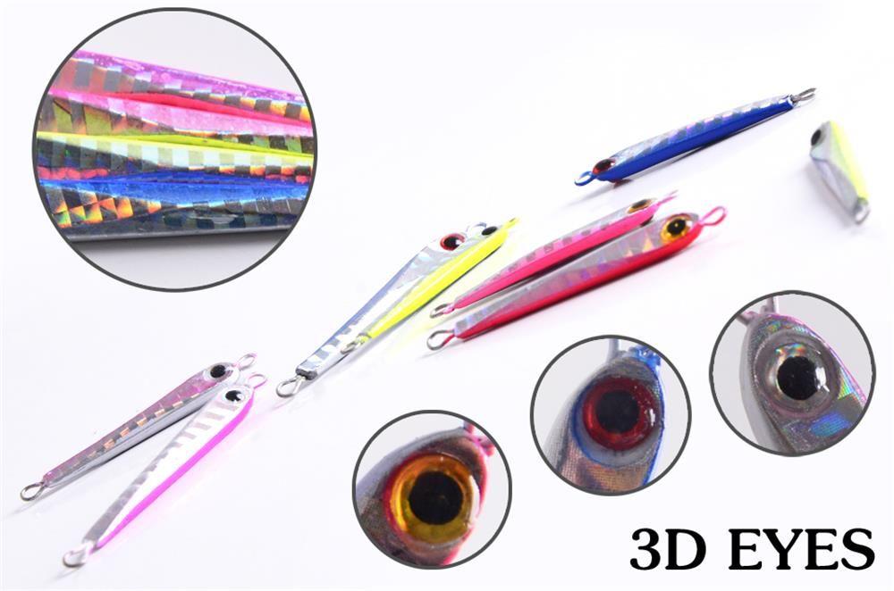 Fishing Lures 3.8G 5G Metal Jig Spoon Lure Spinner