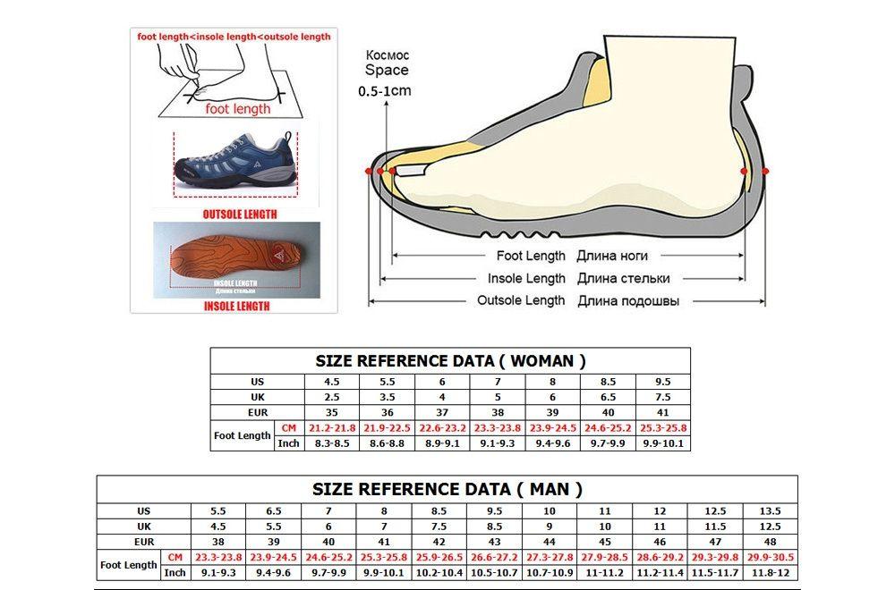 HUMTTO Walking Shoes Women Rubber Anti-fur Sneakers Trekking Shoes